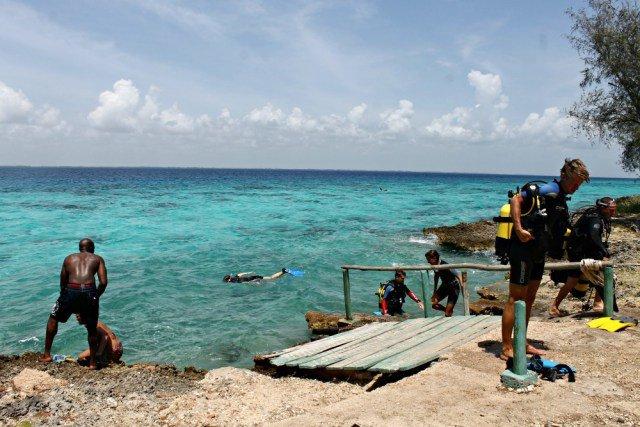 Buceo impresionante en las costas del Caribe