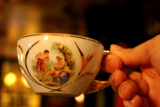 Taza de té en Pensâo Amor