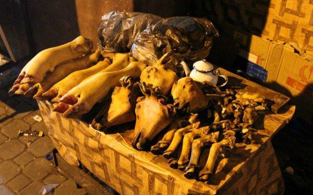 Apetitosa carne en Marruecos
