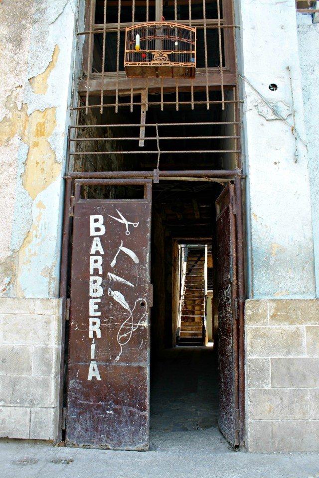 Barbería cubana