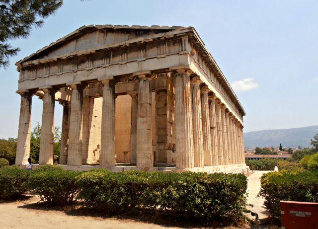 Templo de Héfeso en el Ágora de Atenas