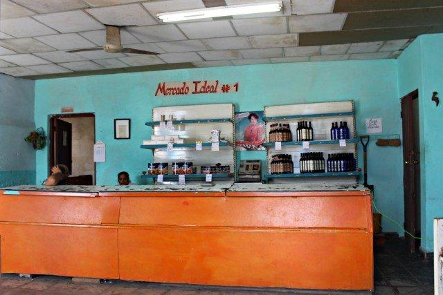 Tienda de comestibles en Cuba, supermercado