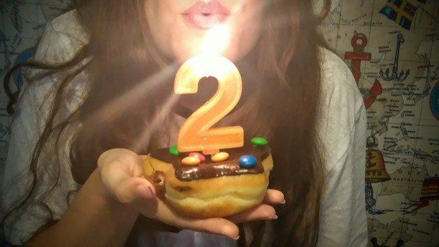 Feliz 2 cumpleaños Los viajes de Claudia