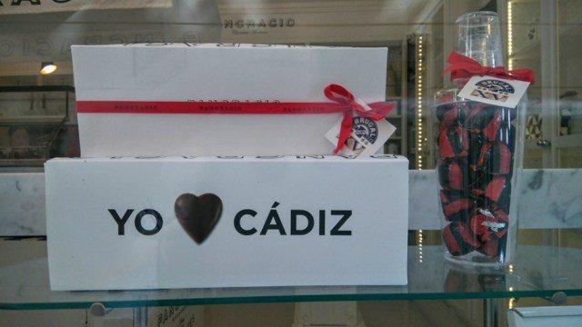 Bombones Yo amo Cádiz