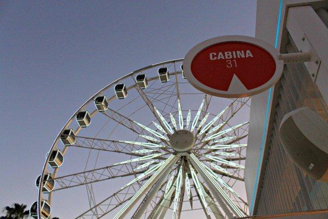 Cabina 31 de la noria de Sevilla