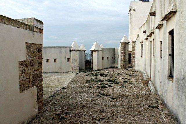 Castillo de Sancti Petri en Cádiz