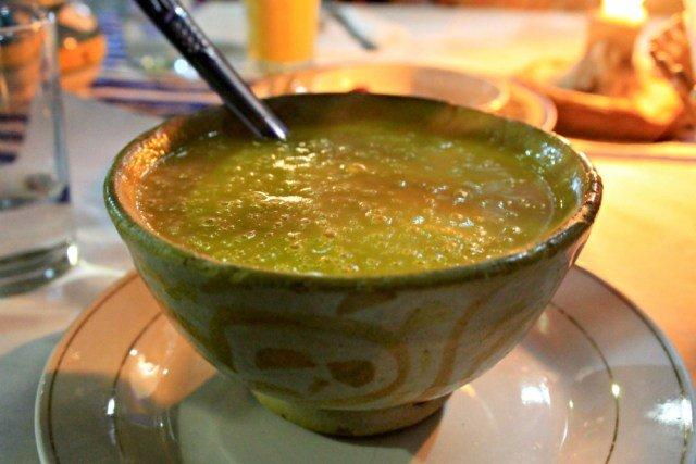 Crema de verduras en Al Kasaba