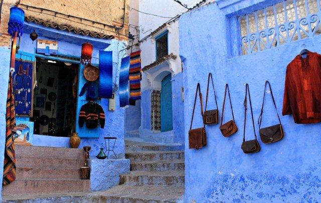De compras por Chaouen, la ciudad azul de Marruecos