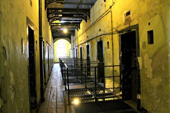 El frío se cala en los huesos en la cárcel de Dublín