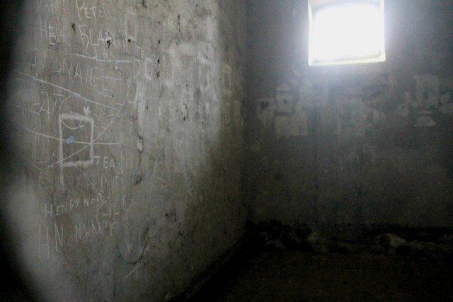 Escritos en las paredes de las celdas de Kilmainham