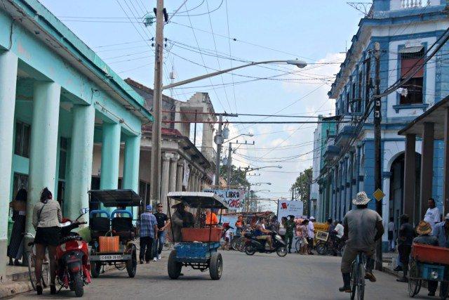 Las calles de Morón en Cuba