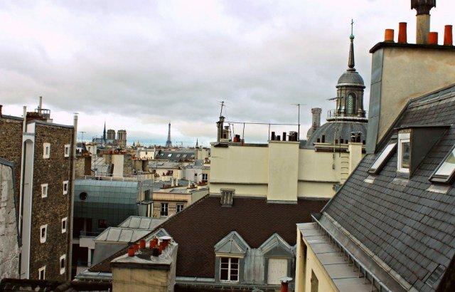 Mis vistas a París
