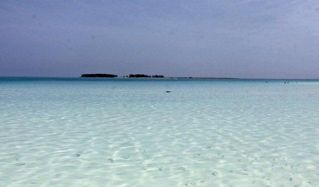Paradisíaca Playa Pilar en Cuba