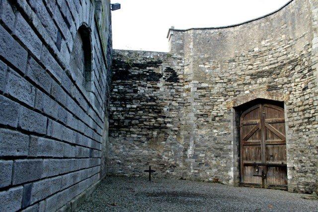 Patio de fusilamientos en Kilmainham