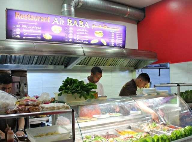 Restaurante Ali Baba de Asilah