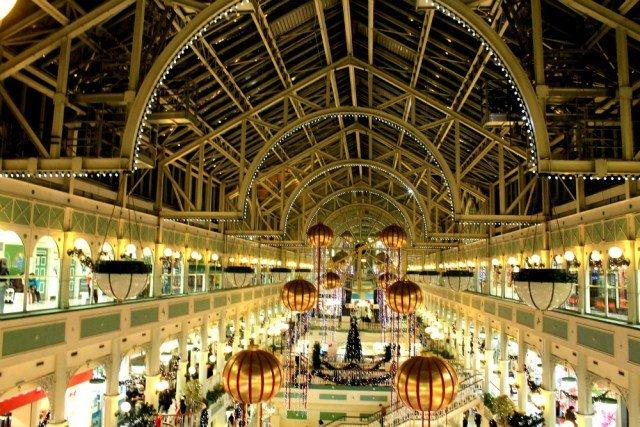 Stephens Green en navidad - Mercados navideños más bonitos de Europa