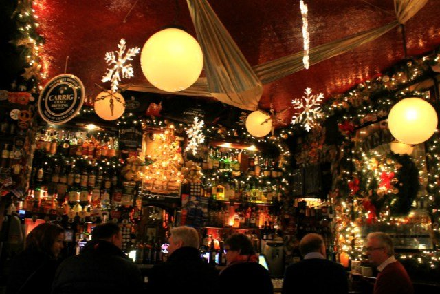 Visitar The Temple Bar en navidad