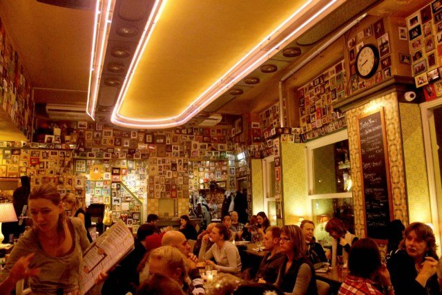 Restaurante Moeders en Ámsterdam