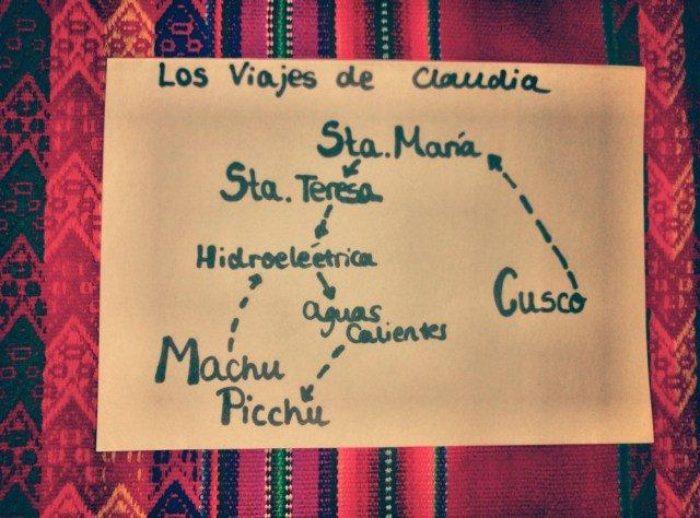 Cómo llegar a Machu Picchu con mapa