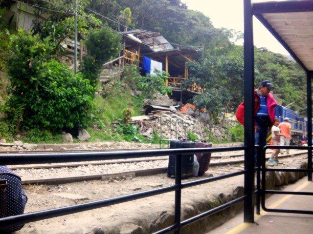 Estación de tren de la Hidroeléctrica