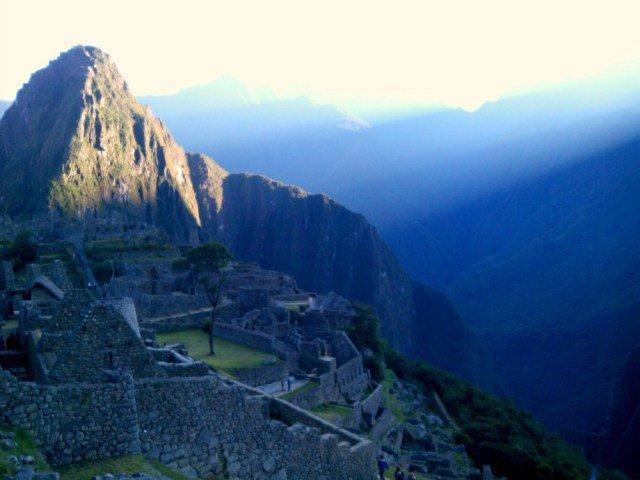 Ver amanecer en Machu Picchu