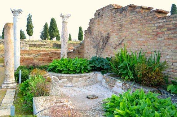 Casa de los pájaros - Qué ver en Itálica