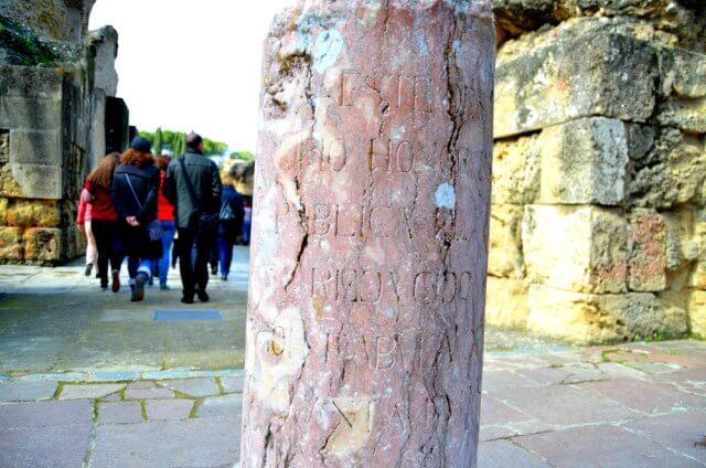 Columna del Anfiteatro de Itálica
