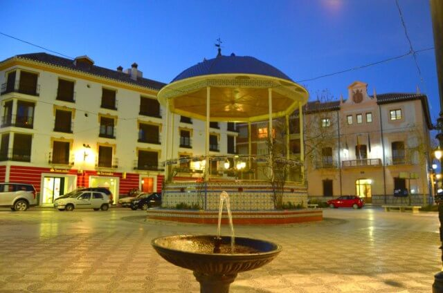 Plaza Mayor de Huéscar