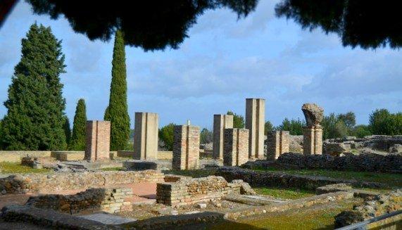 Ruinas de Itálica en Sevilla