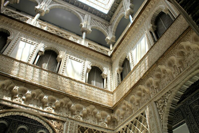 Arte en el Alcázar de Sevilla