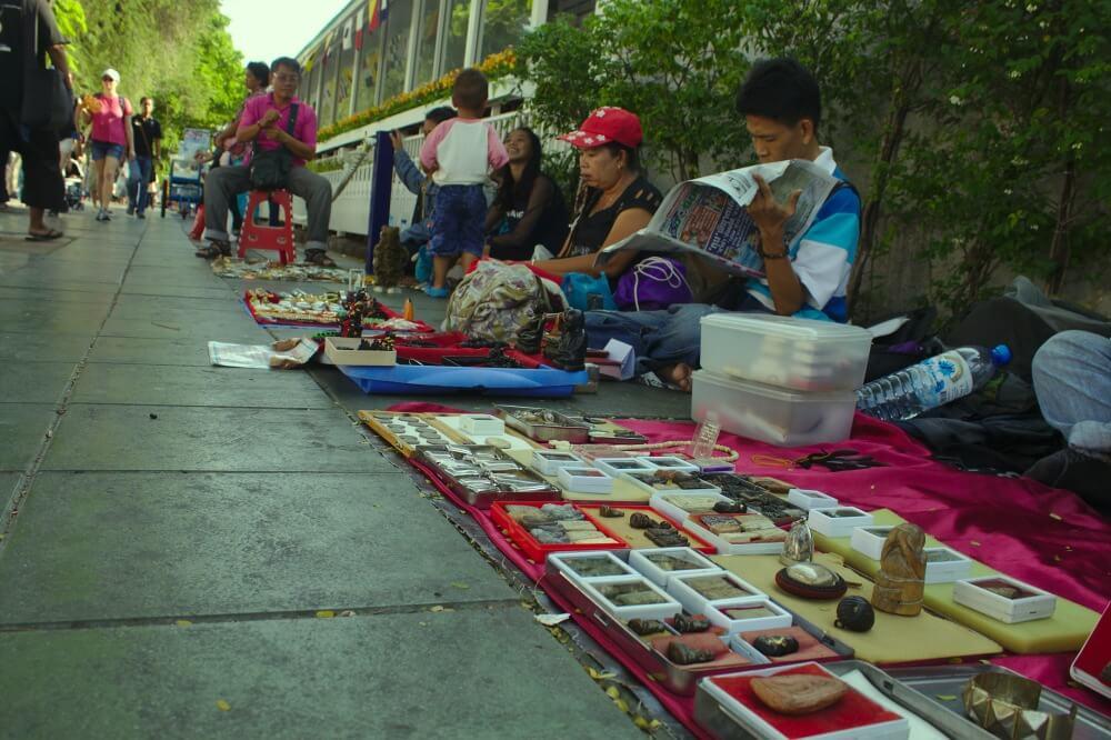 Mercado de los Amuletos en Bangkok