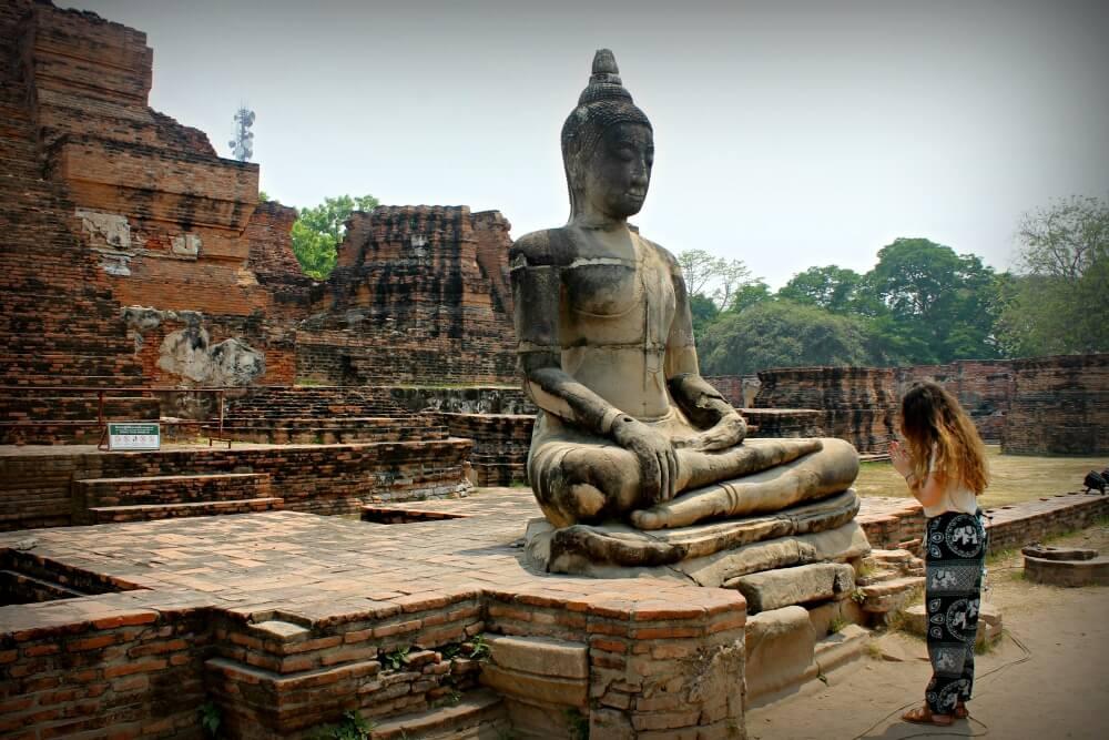 Momentos de intimidad con Buda