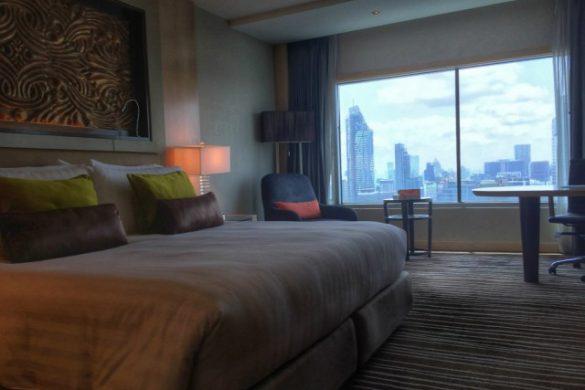 Nuestra habitación para dormir en Bangkok