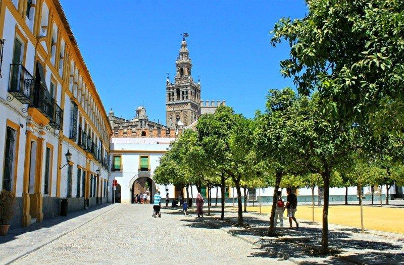 Patio de Banderas del Alcázar de Sevilla Juego de Tronos