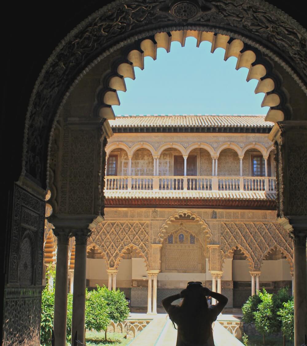 Sombras en el Alcázar de Sevilla