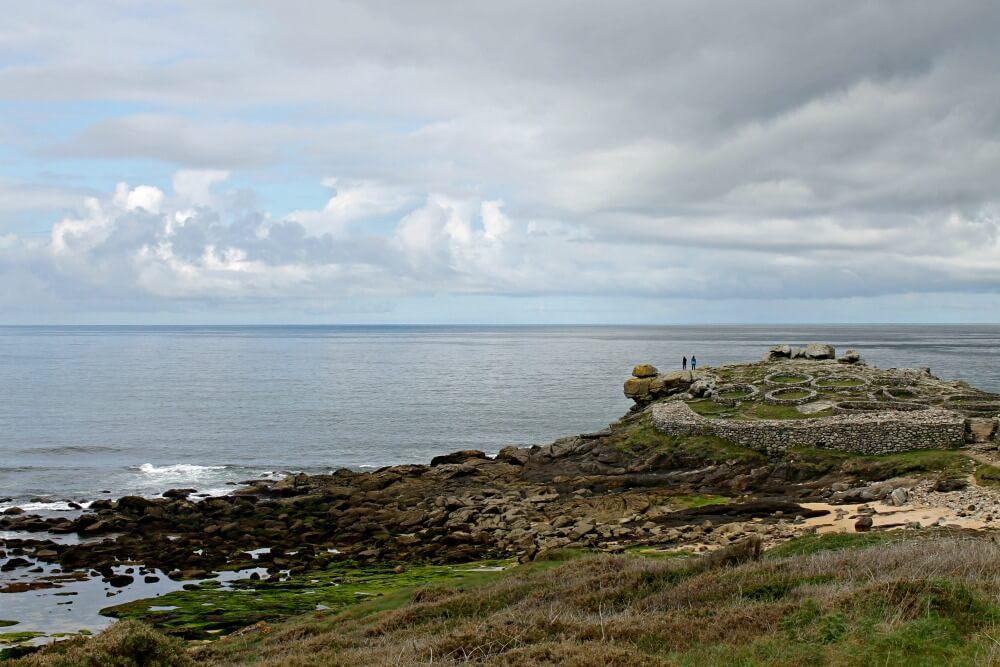 Asentamiento en ruinas en La Coruña