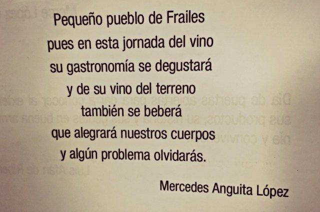 Pequeño pueblo de Frailes...