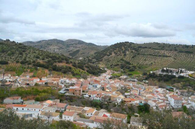 Vistas desde la ermita de Frailes