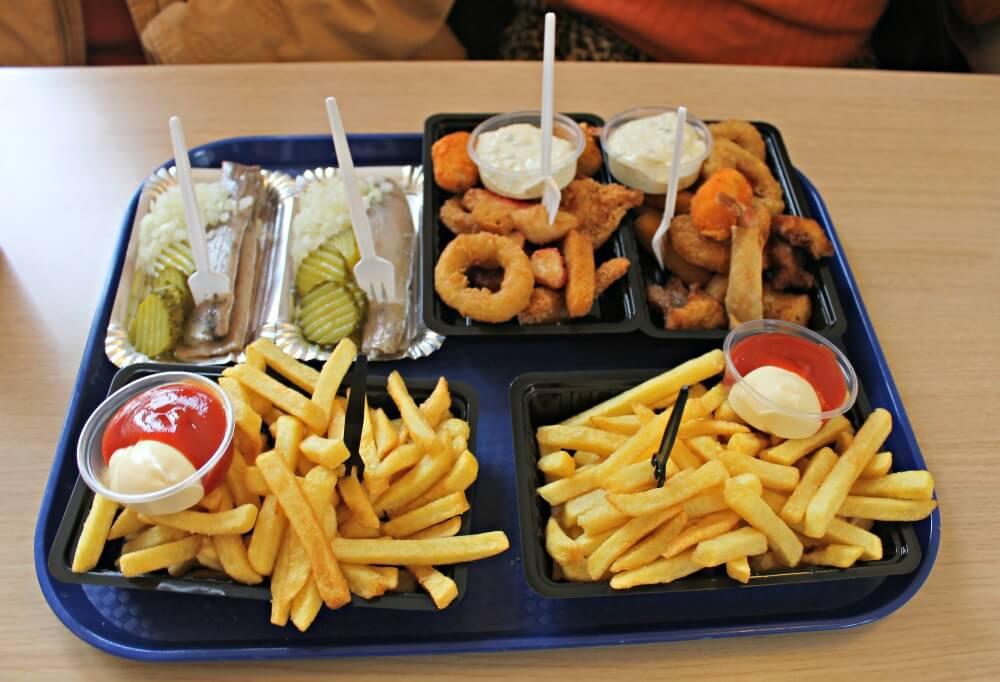 Fish & Chips en Volendam - Holanda