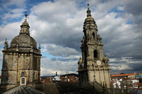 Las cubiertas de la Catedral de Santiago de Compostela