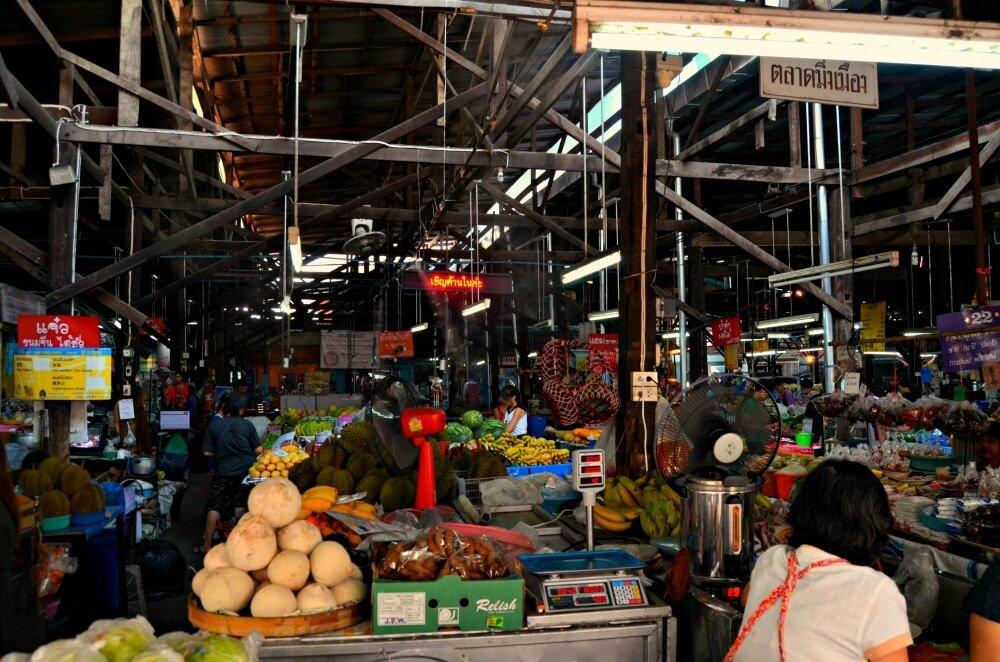 Mercado de Sampet de Chiang Mai Tailandia