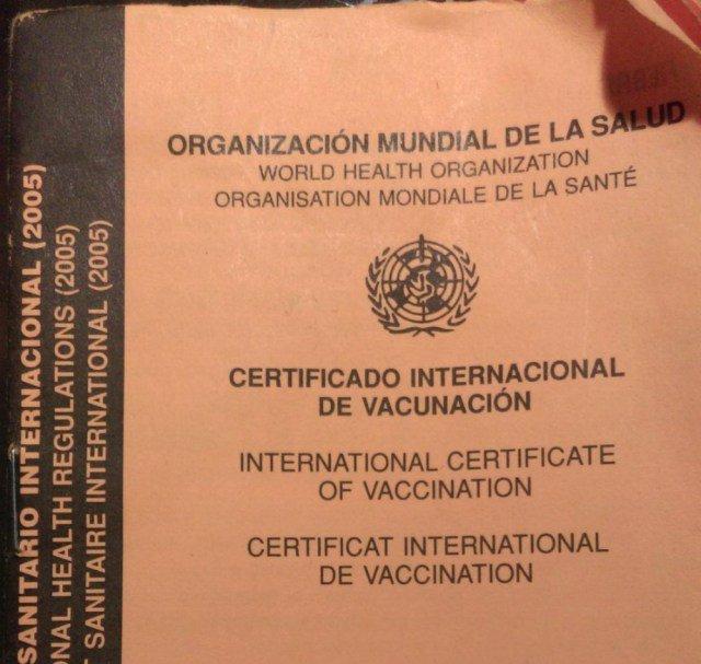 Vacunas para viajar al Amazonas
