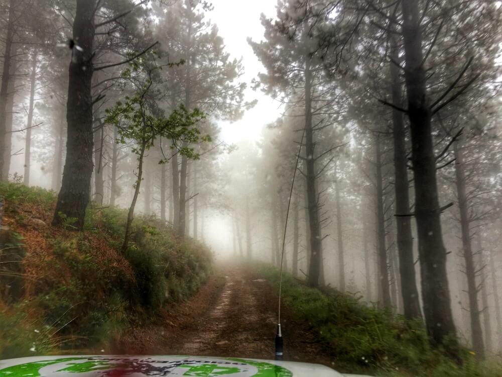 Caminos fantasmagóricos en 4x4 en País Vasco