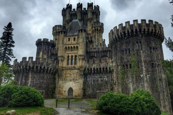 Castillo Butrón en País Vasco