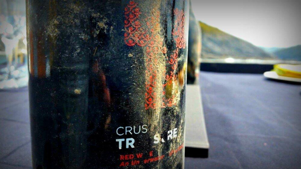 Crusoe Treasure - Underwater wine