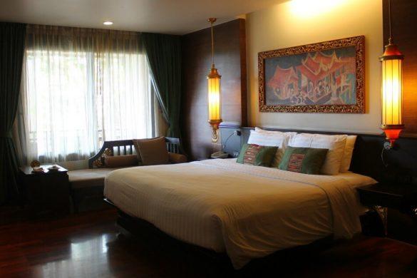 Habitación de estilo Lanna en Siripanna