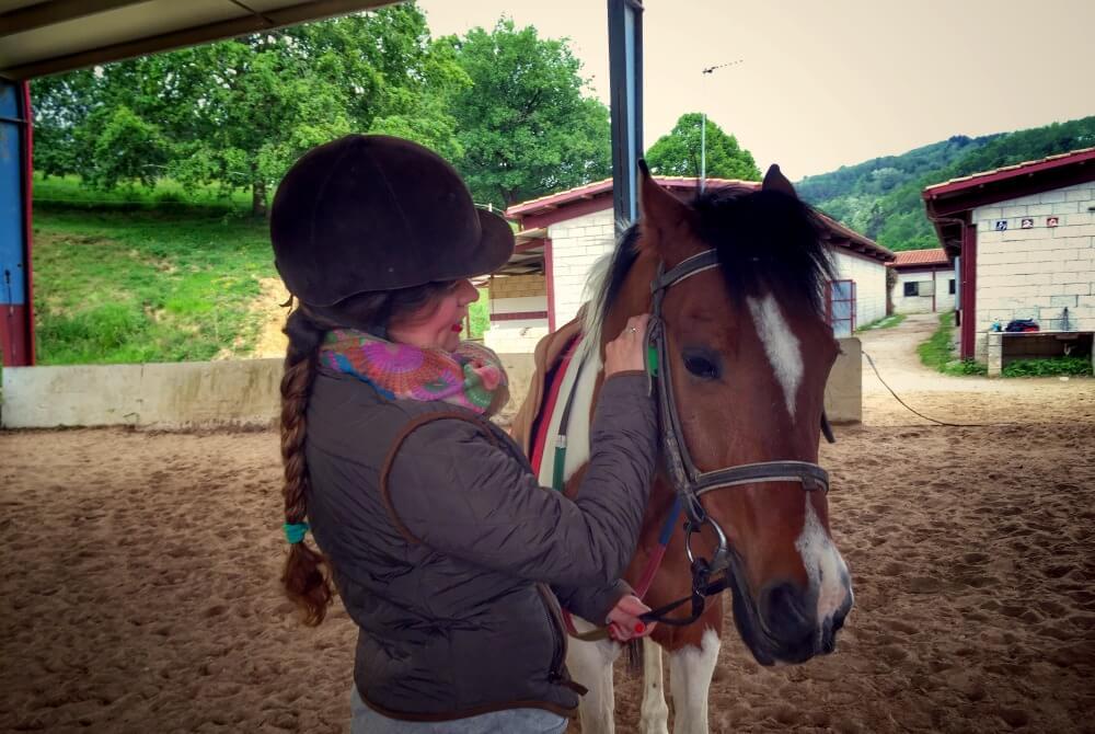 Montar a caballo en País Vasco - Mi amigo Valerio