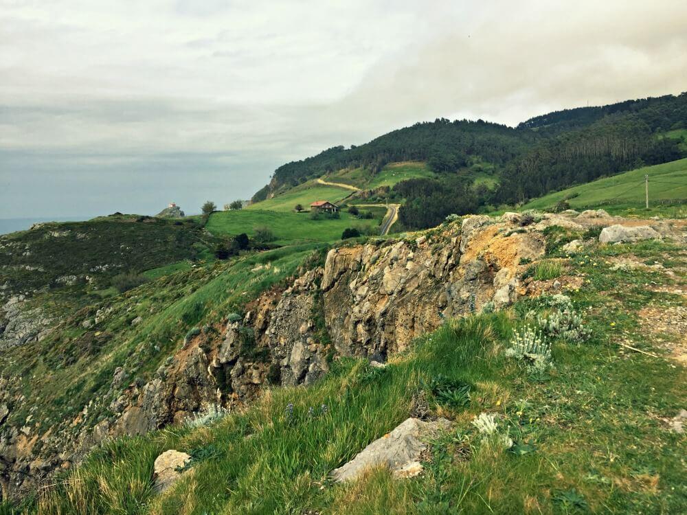 Sobrevolar en globo los paisajes de la Costa Vasca