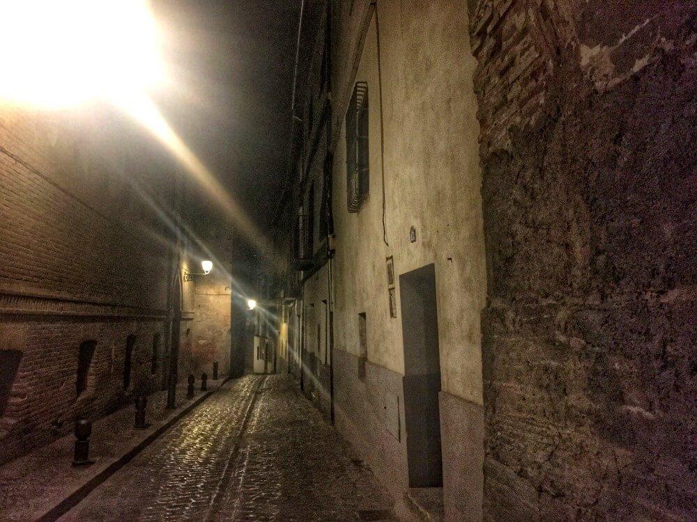 Calle San Juan de los Reyes de Granada