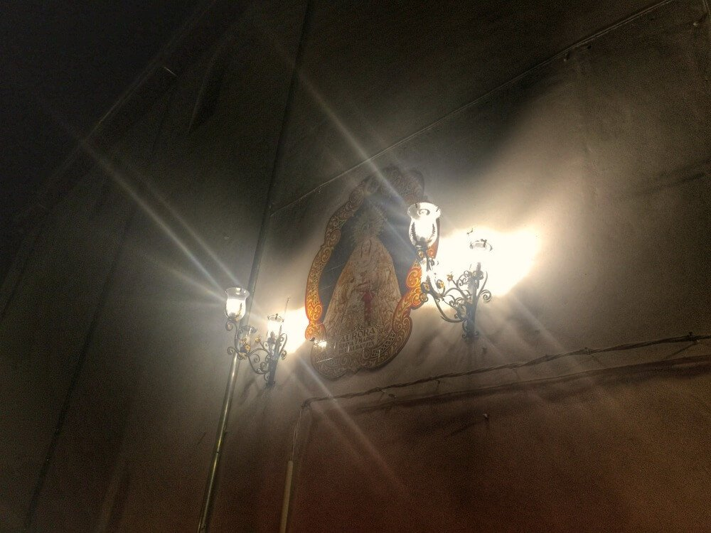 Virgen de la Aurora, Granada